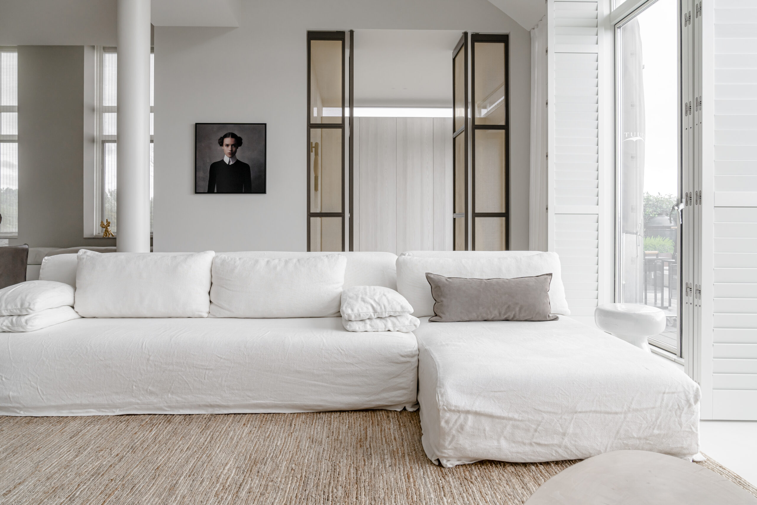 minimalistisch wit huis studio muk